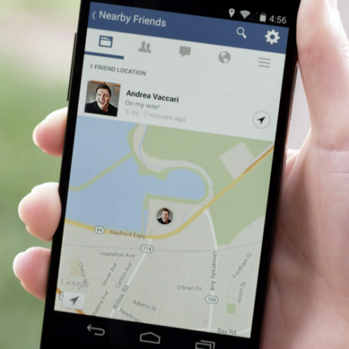 Facebook's Nearby Friends announced for mobile