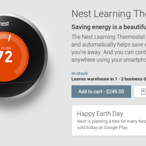 Nest now available from Google Play Store