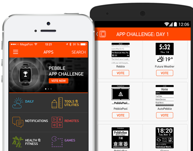 Vote in the Pebble App Challenge and you could win $500 in 'cash ...