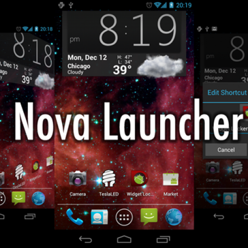 Nova Launcher reached version 3.0, Google's voice hotword included in the update