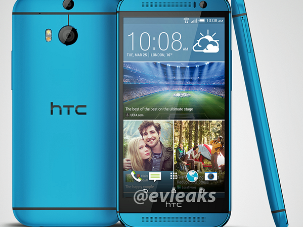 HTC One (M8) blue