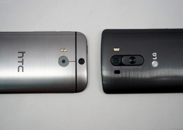 lg g3 vs htc one m8 comparison leak