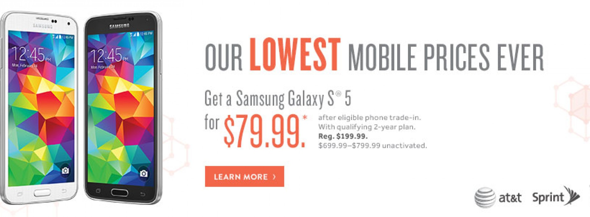 Radio Shack offering Samsung Galaxy S5 for $79 with trade-in