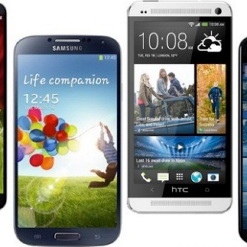 Get the best phones of 2013 for a penny on Amazon