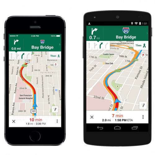 Google Maps gets offline mode, lane assist, and more
