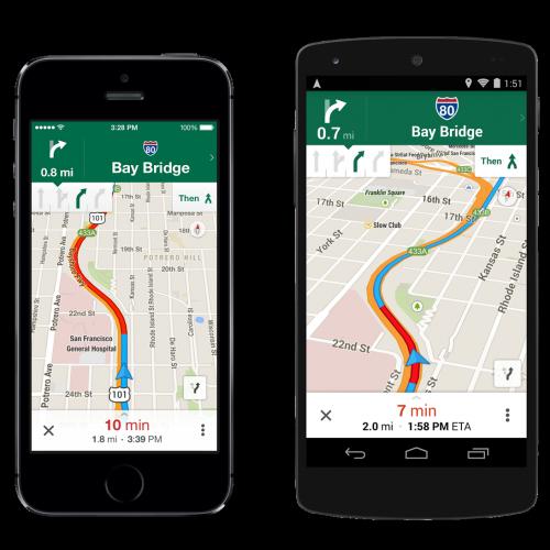 Google Maps gets offline mode, lane assist, and more
