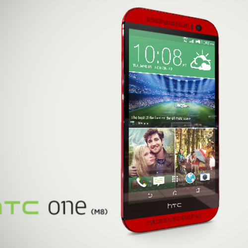 HTC finally confirms red One M8, but only in Taiwan