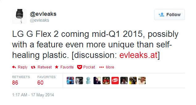 lg g flex 2 evleaks leak