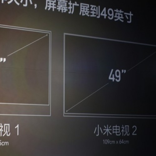 Xiaomi announces a 49-inch 4K Android TV for a whopping $640