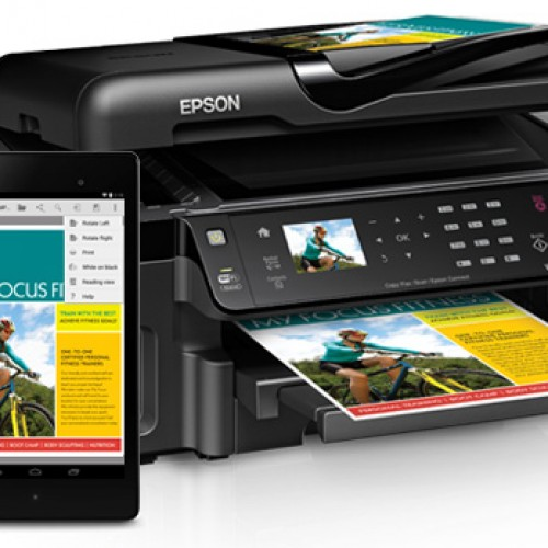 Epson now supports native printing in Android 4.4 Kitkat