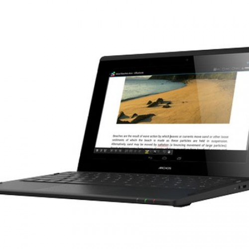 ARCHOS debuts ArcBook, a wallet friendly Android netbook