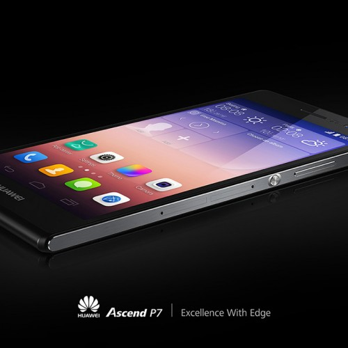 Huawei pulls curtain back on flagship Ascend P7