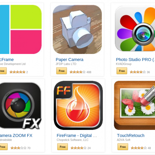 Shutterbug Delight! Amazon giving away 9 paid photo apps for free today