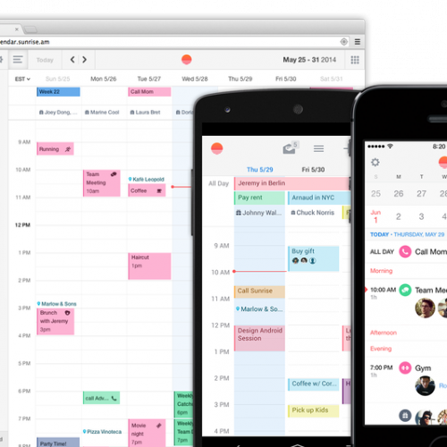 Sunrise Calendar for Android exits Beta, brings new web view