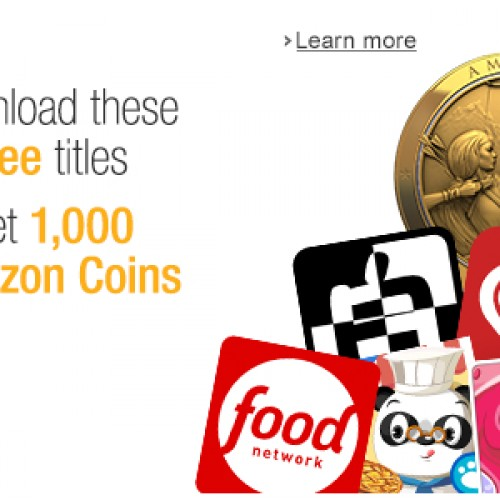 Amazon giving away five free apps and $10 worth of credits