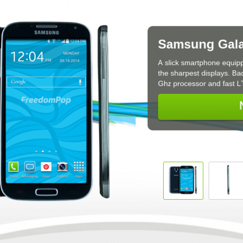 FreedomPop calls up trio of LTE-equipped Samsung smartphones
