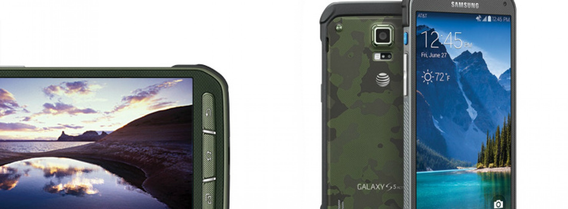 AT&T now selling rugged Samsung Galaxy S5 Active