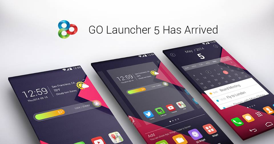 latest go launcher prime free