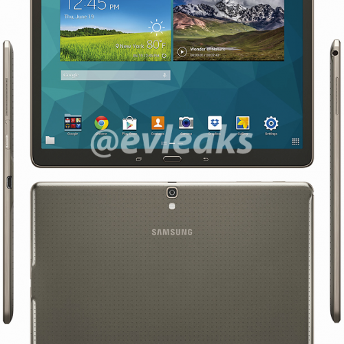 Galaxy Tab S 10.5 leaks on images ahead of launch