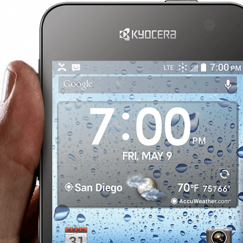 Sprint and Virgin Mobile announce waterproof Kyocera Hydro Vibe