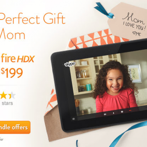 Amazon discounts Kindle Fire HD tablets by up to $40