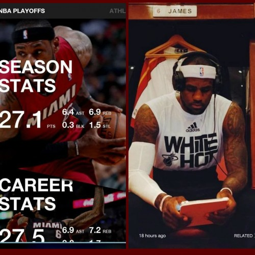 Samsung debuts LeBron app with 'unprecedented access' to athlete