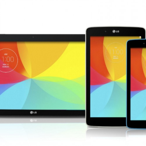 LG announces three new tablets: 7.0, 8.0, and 10.1