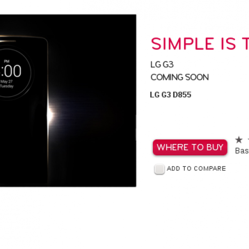Pieces come together for LG G3 ahead of next week's launch