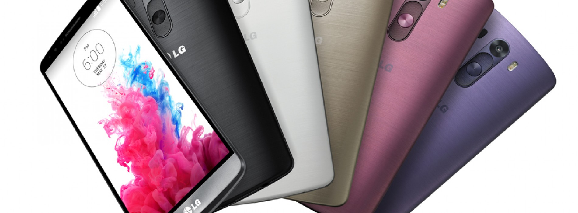 LG G3 is now available from Sprint and AT&T