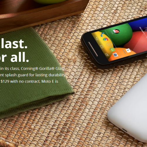 Moto E announced in the UK priced at £89