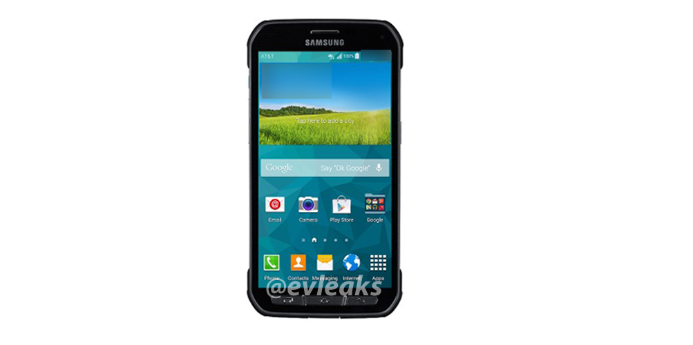 Galaxy S5 Active appears on Twitter, posing once again
