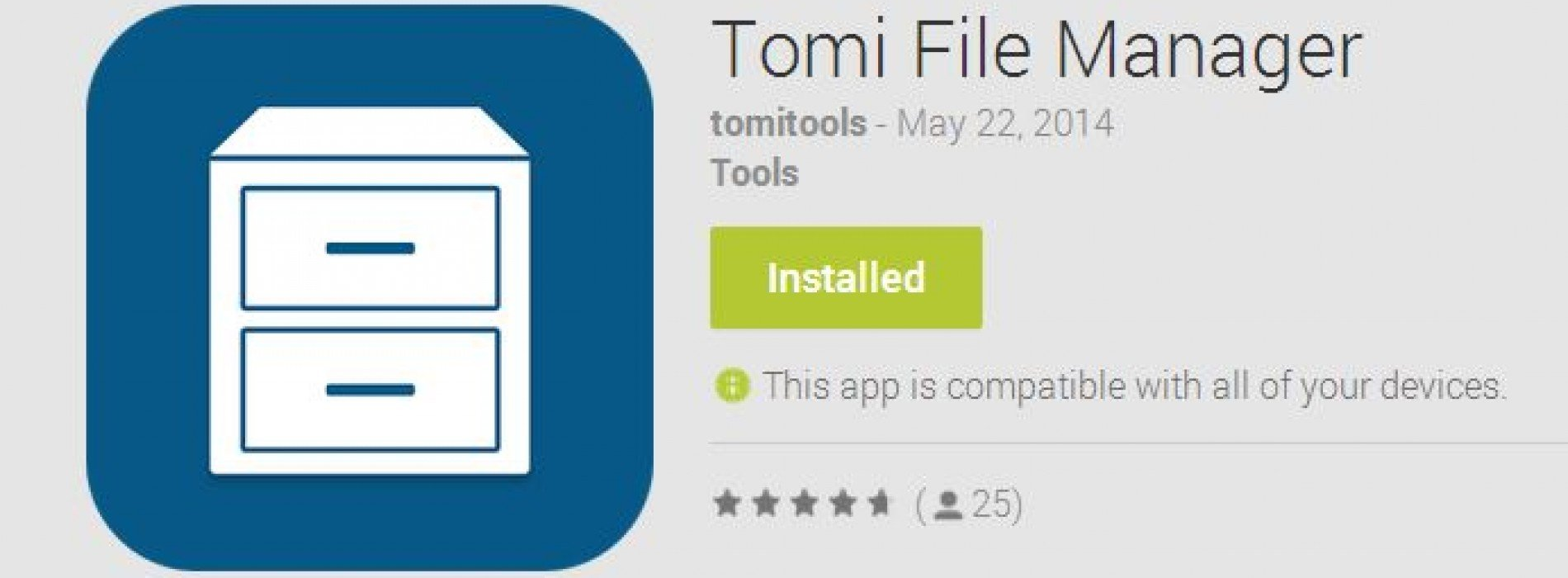The smart, simple Tomi File Manager is here [App of the Day]
