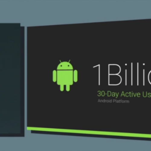 By the numbers: Google boasts Android explosive growth