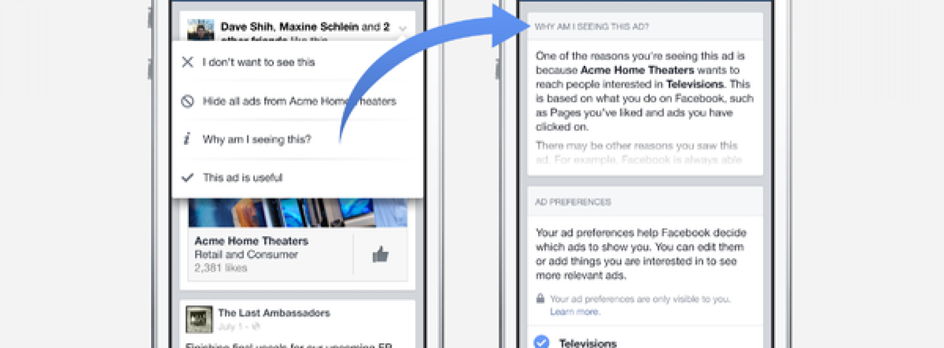 Facebook will allow users to alter their ad profiles; track your smartphone usage