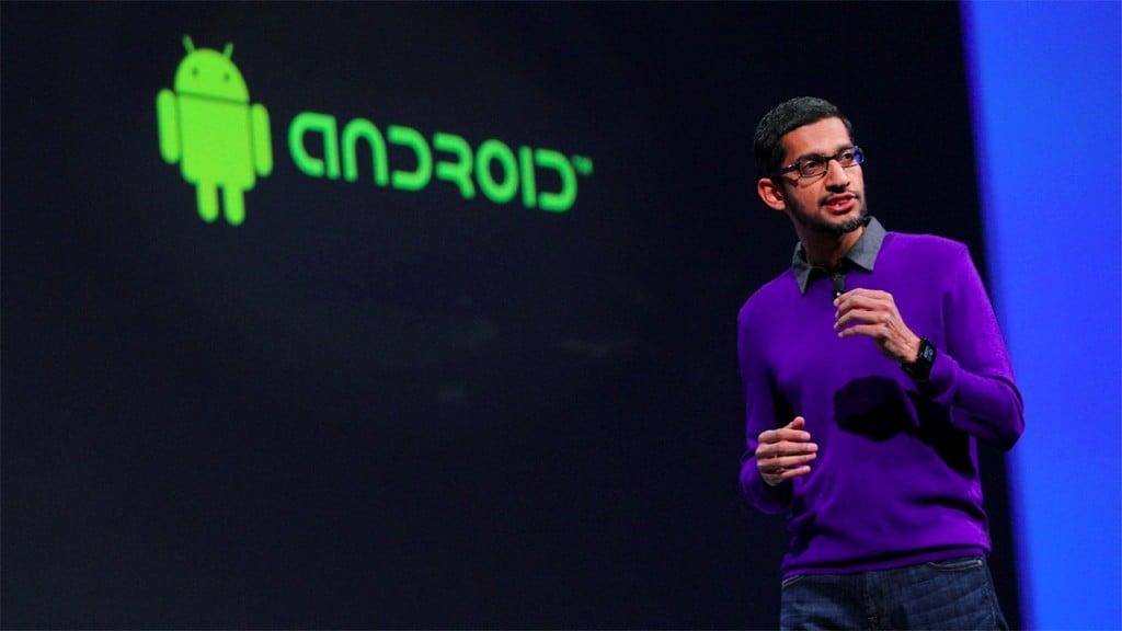 sundar pachai android