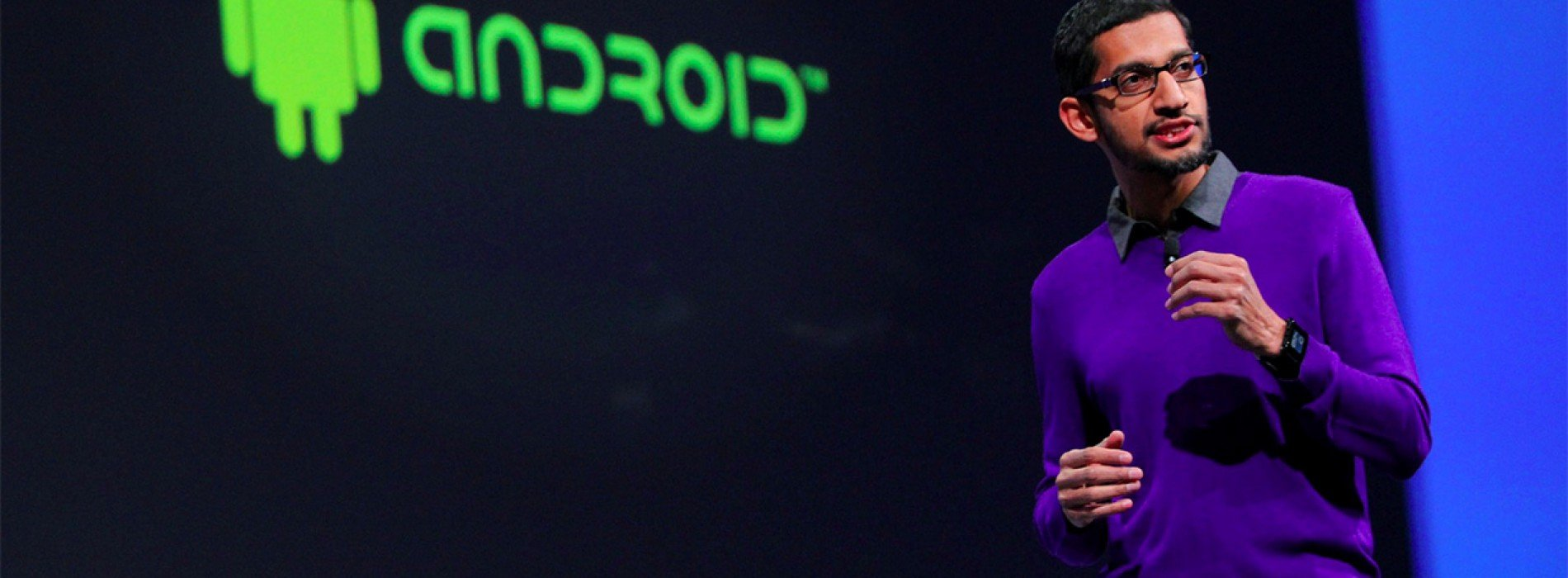 We'll see a new version of Android previewed at Google I/O, Sundar Pachai confirms
