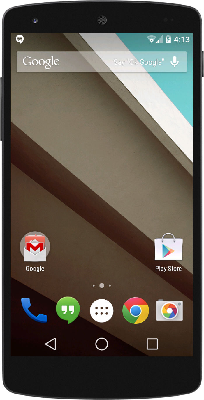 Android L Home Screen