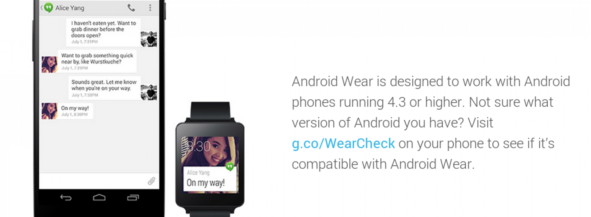 Is my Android smartphone compatible with Android Wear?