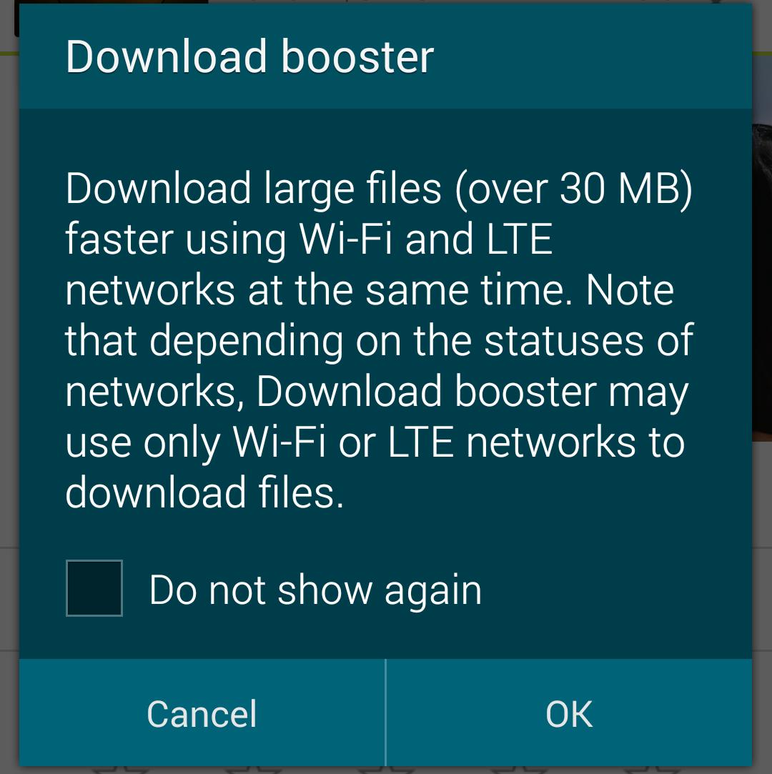 samsung download booster___