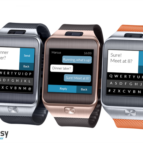 Fleksy keyboard launches Messenger App for Samsung Gear 2 Smartwatch