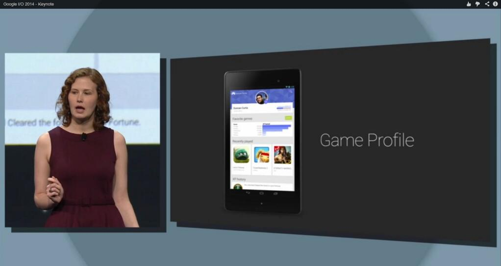 Google Play Games Game Profile