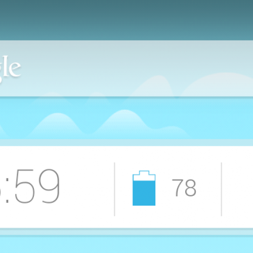 Get This Look: Google Now Homescreen