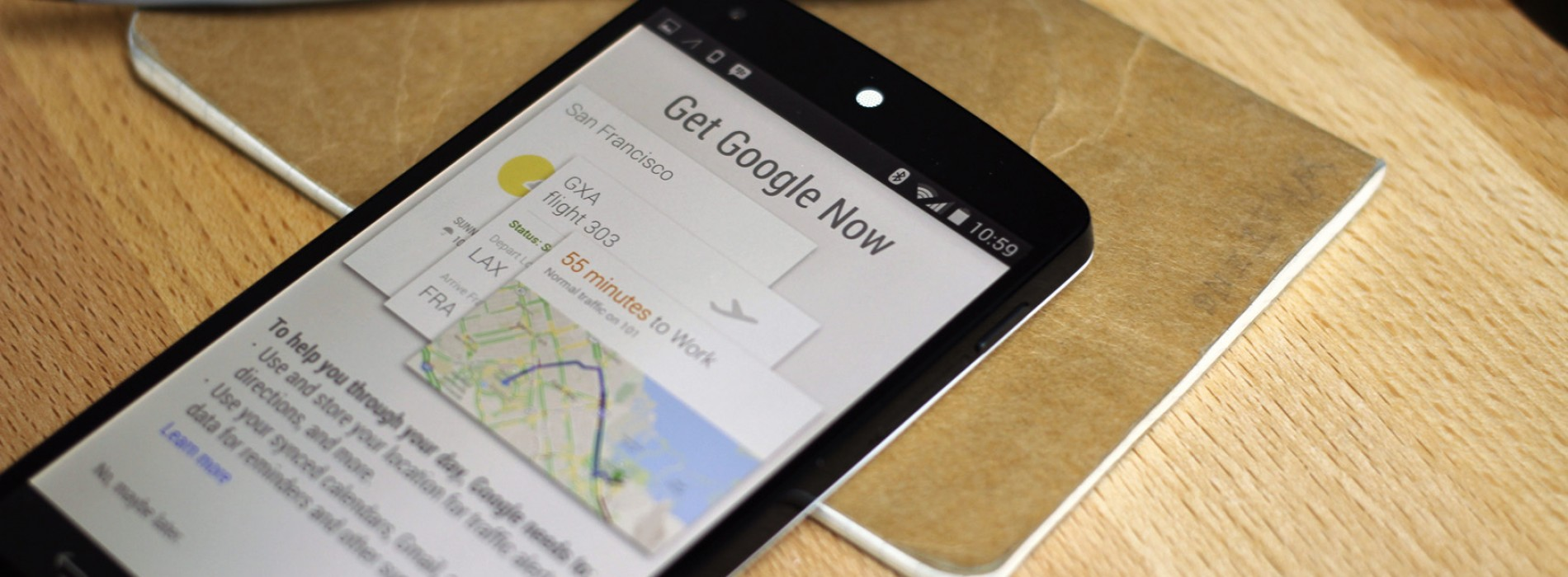 Google Now is going to make sure you don't miss your exit, ever again