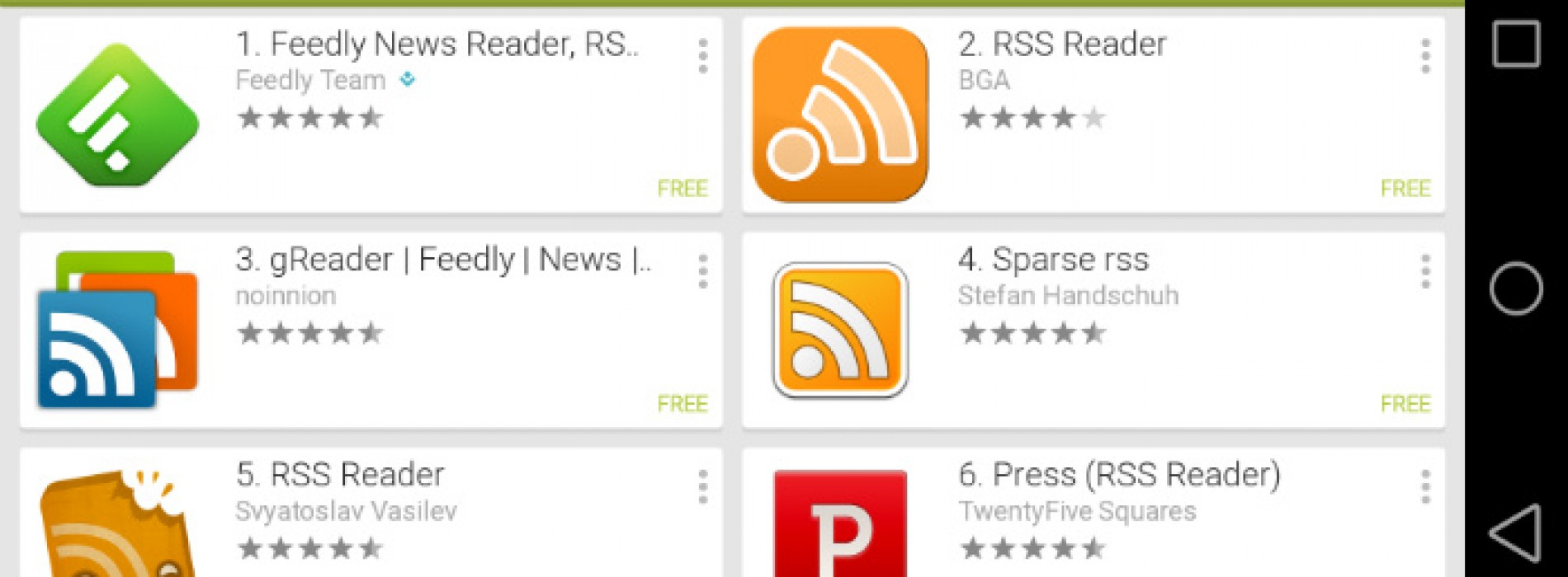 The best paid RSS reader apps for Android