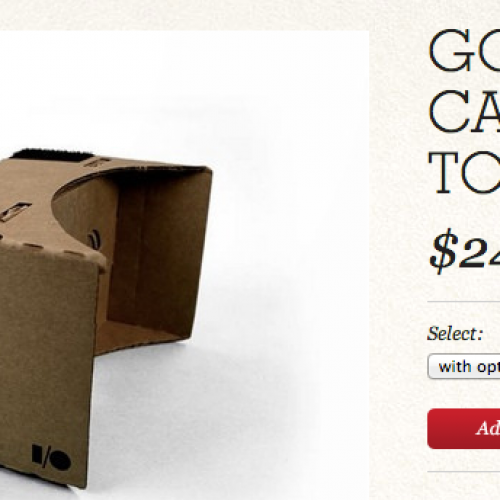 Get your own Cardboard VR on the cheap