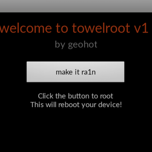 Easily root your AT&T or Verizon Galaxy S5 with Geohot's towelroot