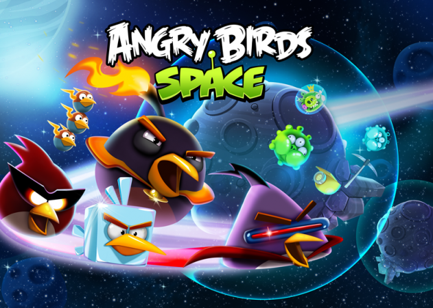 angry birds space beak impact
