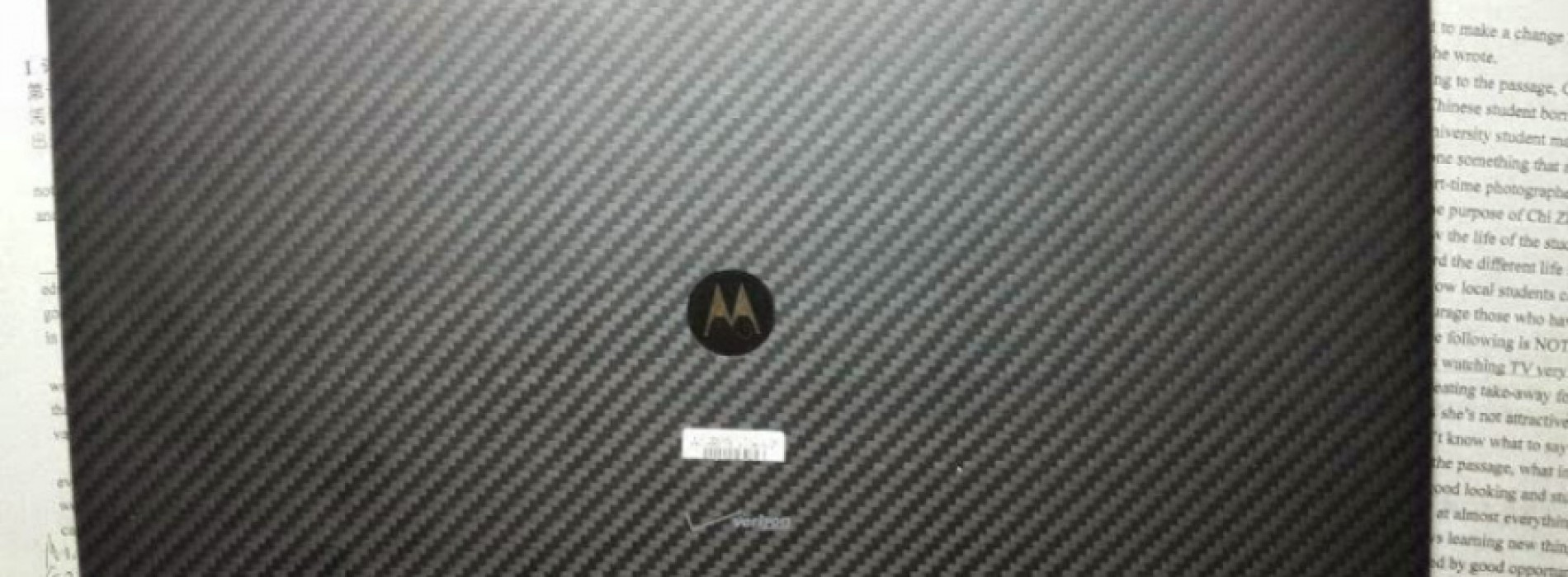 Motorola XOOM 3 leak appears online