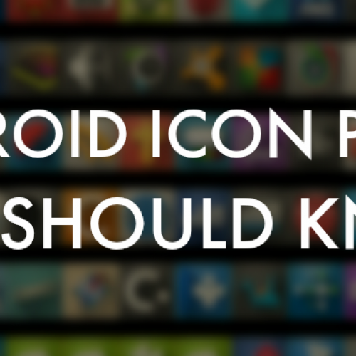 Icon packs that you must have on your Android device…Round Four