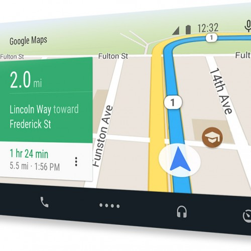 Android Auto 3rd party app UI released by Google